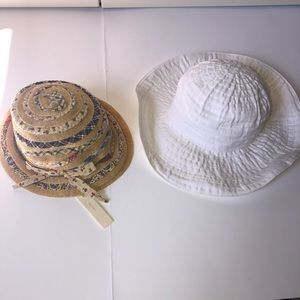 GREVI Girls Summer Hats. Made in Italy. Size 50